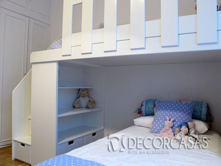 Lindos camarote para ni os funcionales ideales para for Pequeno mueble para dormitorio adulto