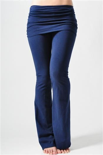 I have zero enthusiasm for paying $60 for a pair of yoga pants, but I like the flab-hiding bits here -- could not be hard to DIY these?