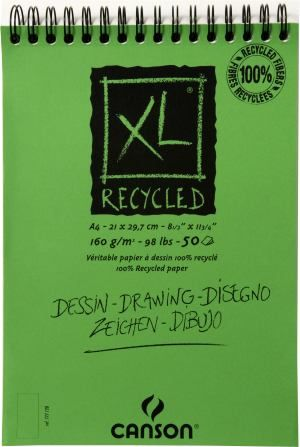 Canson XL Recycled Drawing Paper Spiral Pad