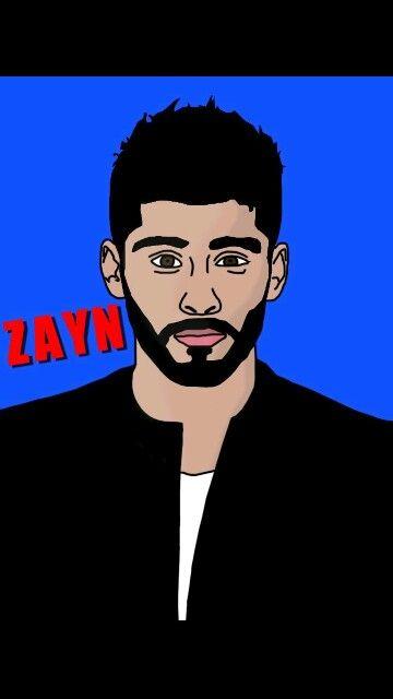 Drawing of Zayn
