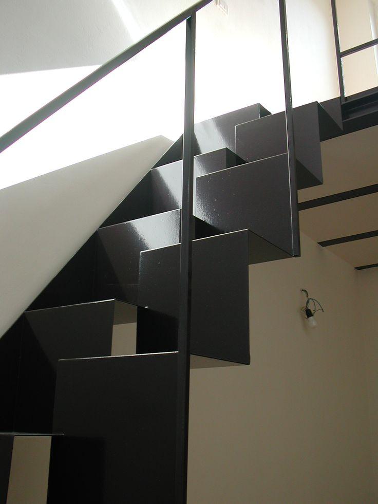 Stairs// Arch. Tommaso Rossi Fioravanti// Barbara Monica. Pedata alternata