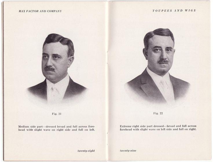 Max Factor - Livrets - 'Perruques et Postiches' - 1917