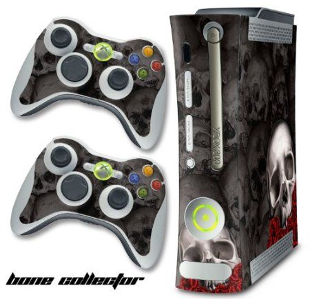 "Highest Quality Vinyl  Will not Scratch, Fade or Peel  Easy Install, High Impact Vinyl Protects your investment  Fits ""Xbox 360"" Console (system not included)  (2) Matching Remote Skins also included!"