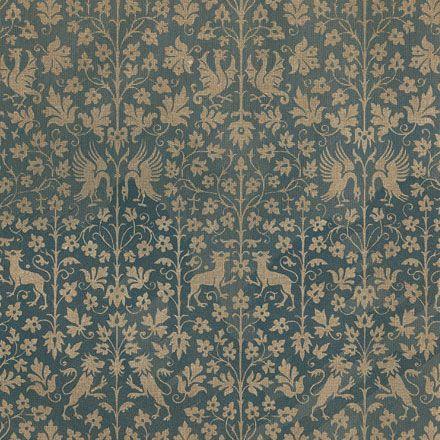 pattern, design, vintage, colour, animals, leaves, nature