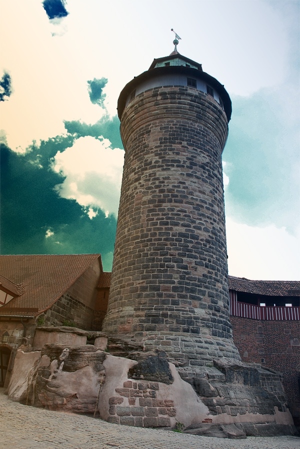 Sinwellturm im Vorhof der Kaiserburg, Nürnberg