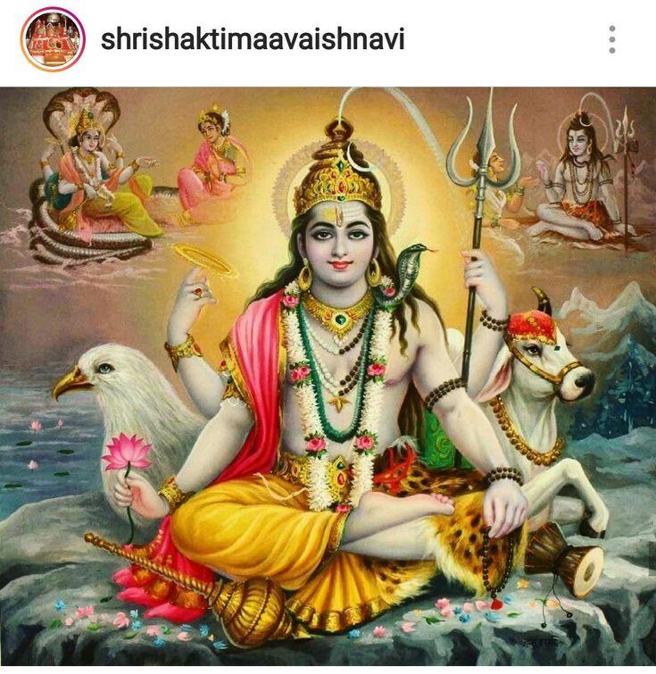 Hari Har Shiv and Vishnu