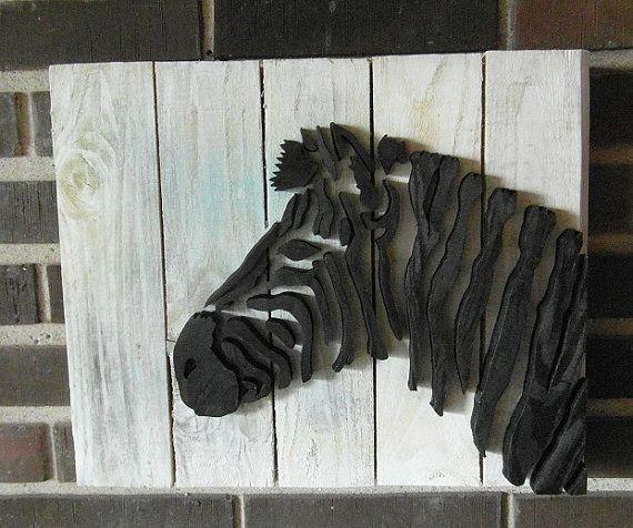 Zebra - Wood Picture
