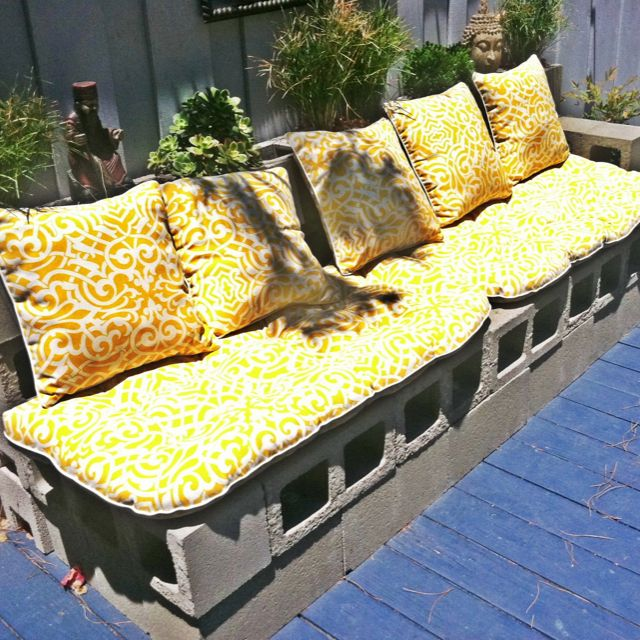 Took this photo at House of Imago in San Diego  I love this DIY patio. 71 best images about    LAV SELV HAVEM BLER   DIY GARDEN FURNITURE