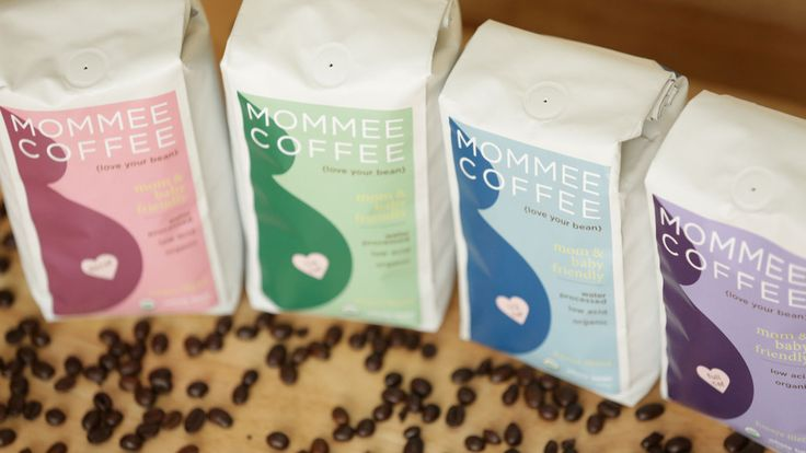 """Our Mommee Coffee """"Full Spectrum"""" variety pack includes our Decaf, Quarter Caf, Half Caf, and Full Caf coffees in one great shipment. And all of them are organic and low acid. Coffee for moms who are pregnant, breastfeeding or trying to conceive. http://mommeecoffee.com/collections/all"""