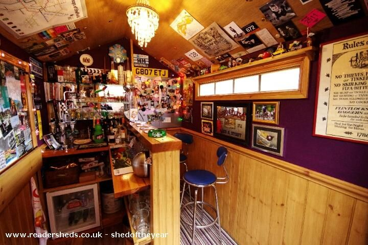 Badger Bar is an entrant for Shed of the year 2015 via @unclewilco  #shedoftheyear