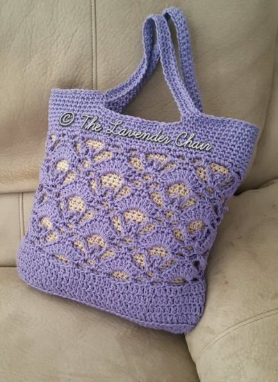 Gemstone Lace Market Bag - Free Crochet Pattern - The Lavender Chair