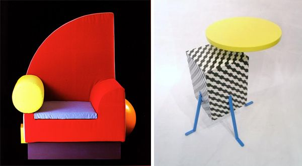 postmodern furniture | Final Design Project | Pinterest | Post ...