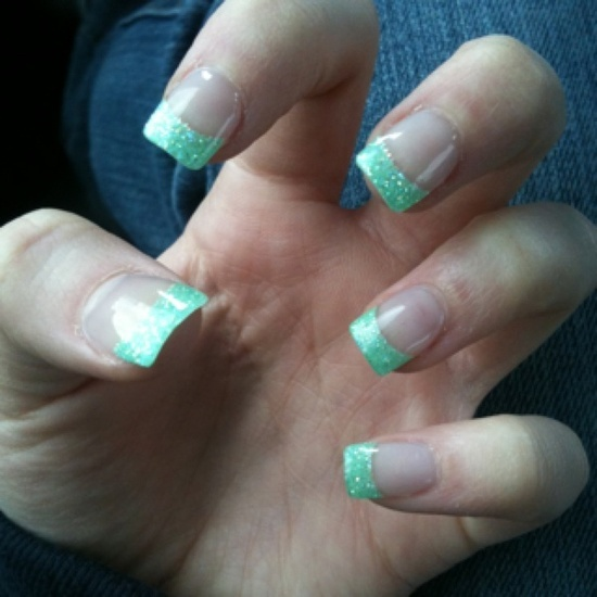 Mint Green Prom Nail: 17 Best Images About Fake Nails On Pinterest