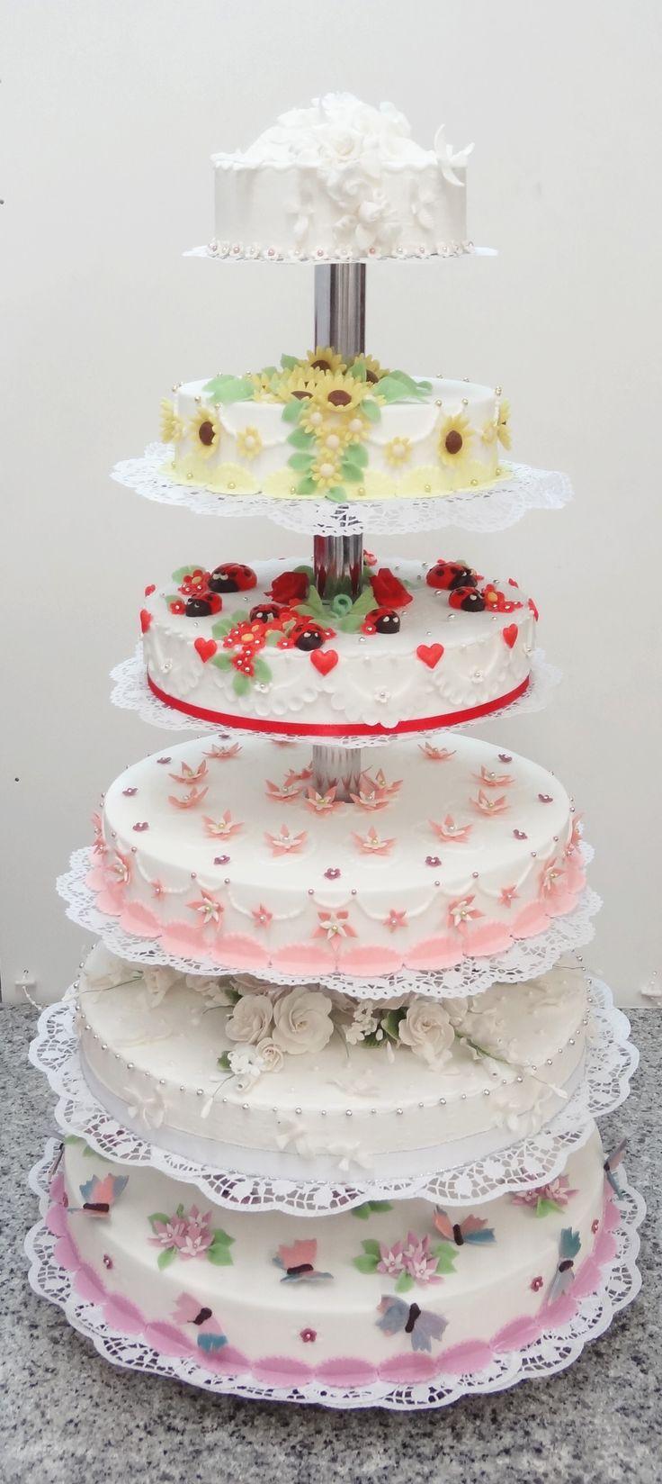 storey cake 6 storey café riese cakes 11 cake hand cologne germany ...