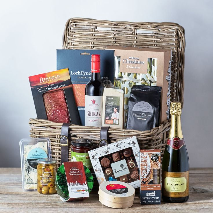 8 best hampers top 10 finds images on pinterest baskets waitrose indulgent christmas hamper offers waitrose gifts negle Image collections
