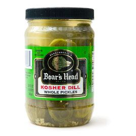Kosher dill pickles, I want to and I want on Pinterest