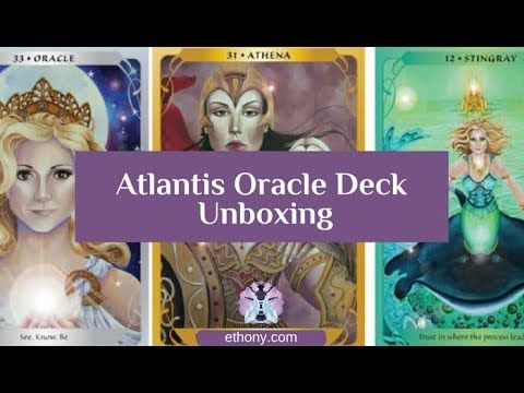 Atlantis Oracle Deck Unboxing Video