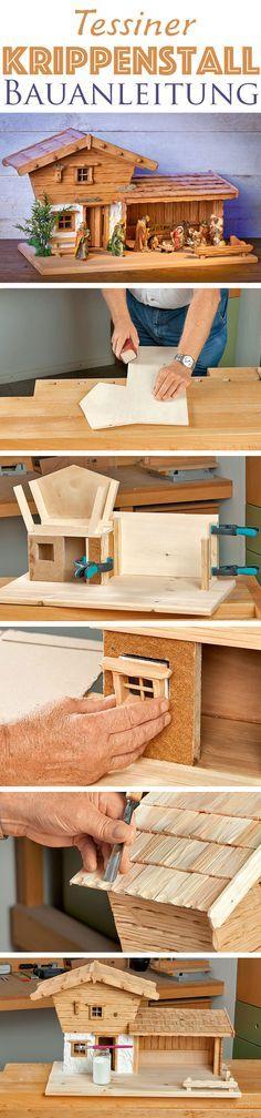 yli tuhat ideaa krippe selber bauen pinterestiss. Black Bedroom Furniture Sets. Home Design Ideas