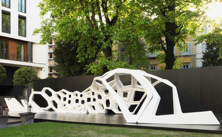 Serpenti, Hotel Bulgari, Milán, Italia - Zaha Hadid Architects - foto cortesía de Bulgari
