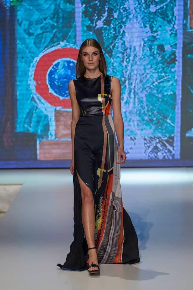 Veronika Lokajíčková fashion show