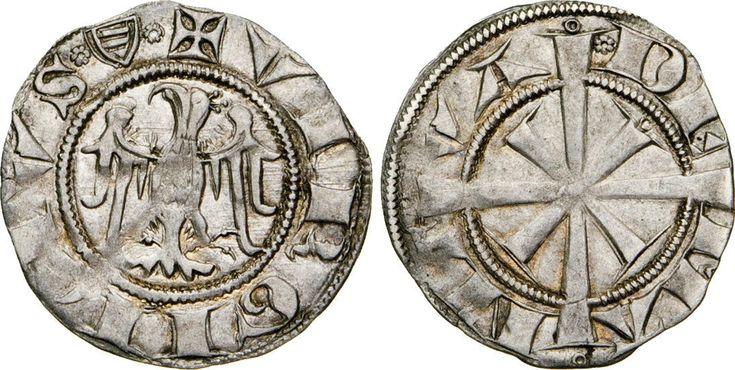 NumisBids: Numismatica Varesi s.a.s. Auction 65, Lot 406 : MANTOVA - LUIGI o GUIDO GONZAGA (1328-1360 o 1360-1369) Tirolino. ...