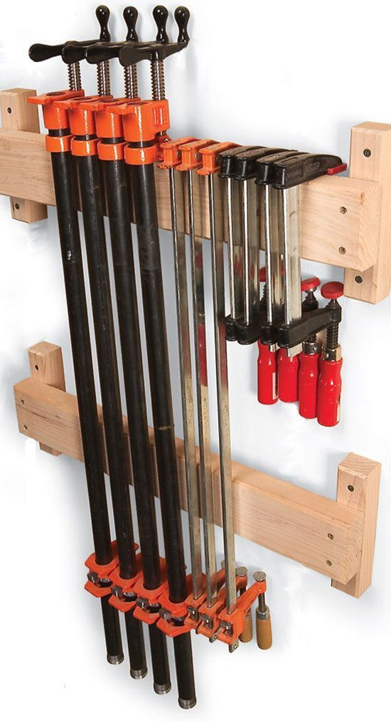 7 Classic Ways to Store Clamps – The Woodworker's Shop – American Woodworker