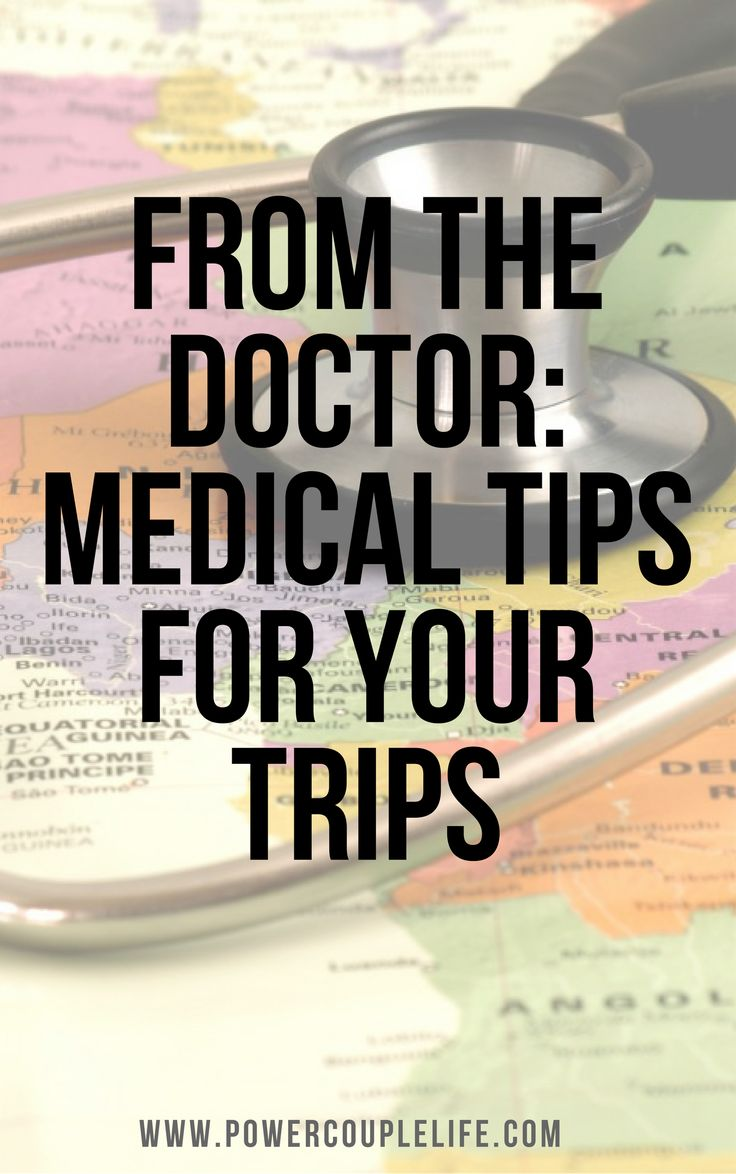 A trip to a developing or foreign country can pose some health risks of which you should be aware before traveling. Here are tips right from the doctor.