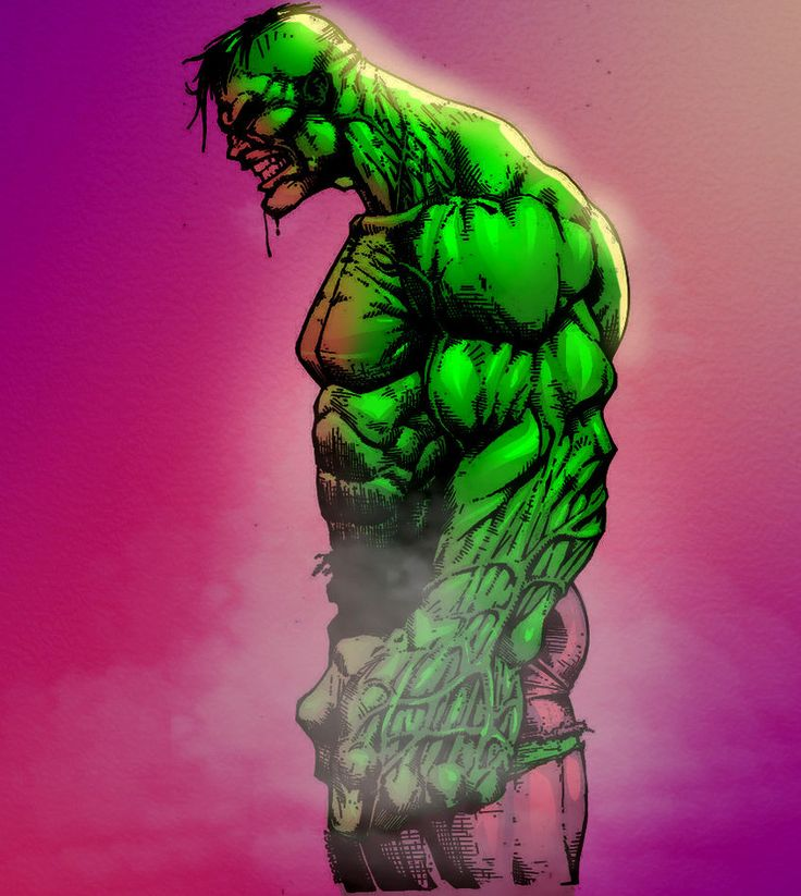 #Hulk #Fan #Art. (Incredible Hulk By Biggmiggz & Ryukaizen. ÅWESOMENESS!!!™ ÅÅÅ+