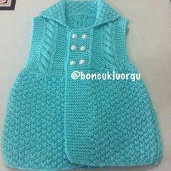 Bütün arkadaşlara güzel bir hafta diliyorum. 0-3 aylık kız bebek yeleği #örgü #bebekyelegi #knitting #knit #knittingforbaby #stricken #ministrikk #strikking #handmade #instaknit #instagood #instalike #instaknitting #tricot #