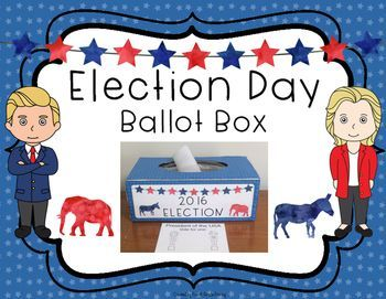 Are you holding a mock election in your class or school?! This election ballot…