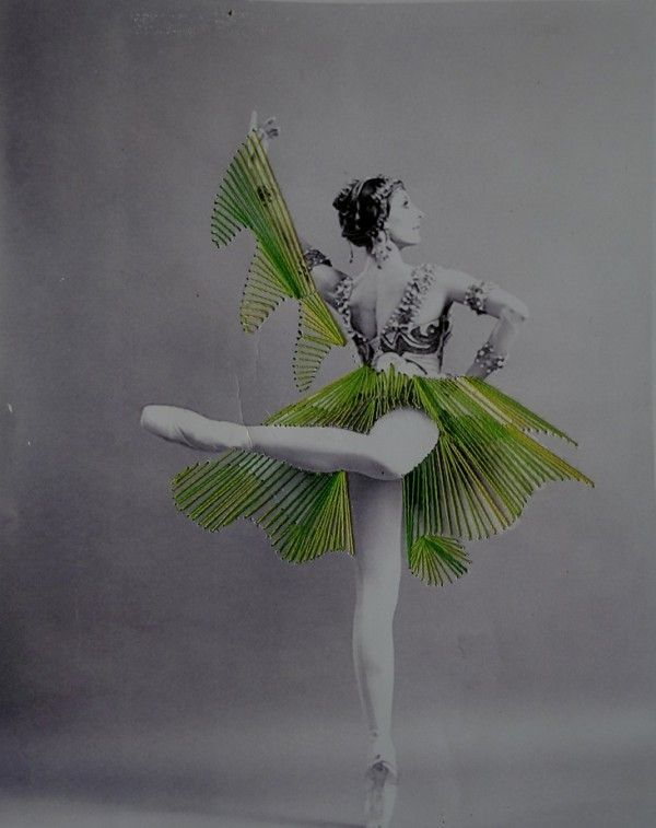 Jose Romussi's stunning embroidered vintage photos of dancers