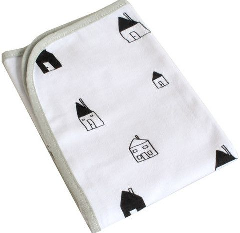 Cotton Jersey Club House Travel Blanket