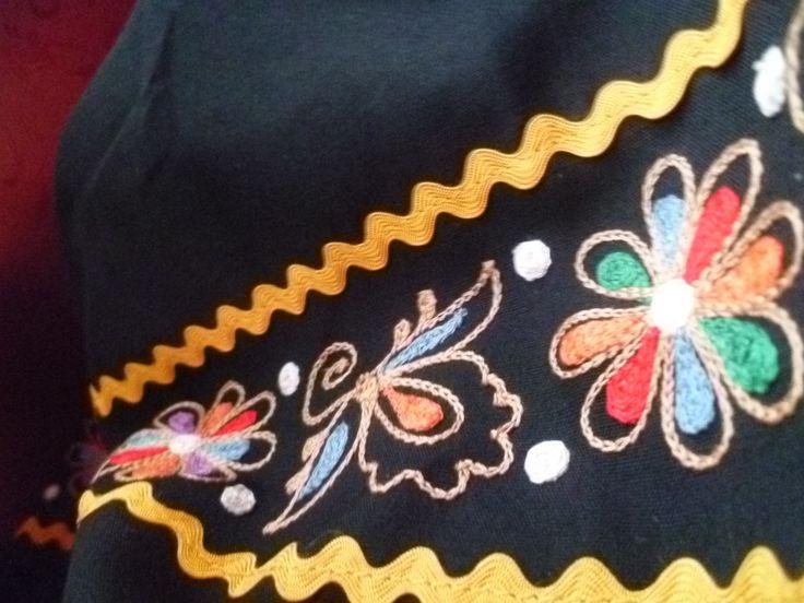 Slovak folklore costume, Očová, Slovakia