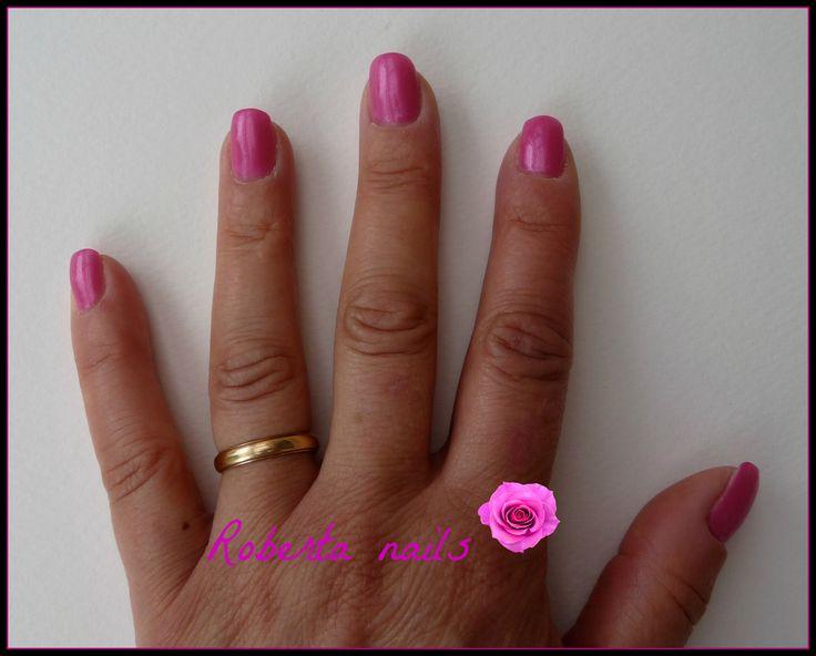 Primo esperimento gel uv con Pink passion di Melano