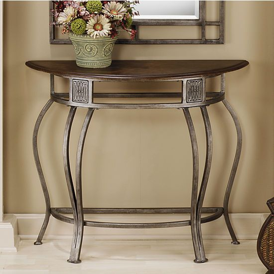Entry Room Furniture 9 best images about table on pinterest | half moon table, foyers