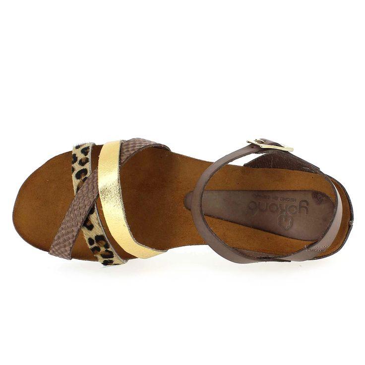 Chaussure Yokono ELENA 006L Marron 4392501 pour Femme | JEF Chaussures