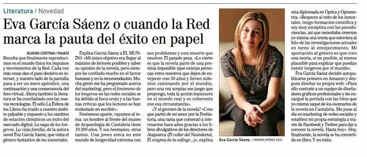 El Mundo Newspaper Spain Mitos Literatura Teoría