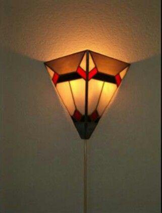 Wandlampje.  Eigen ontwerp