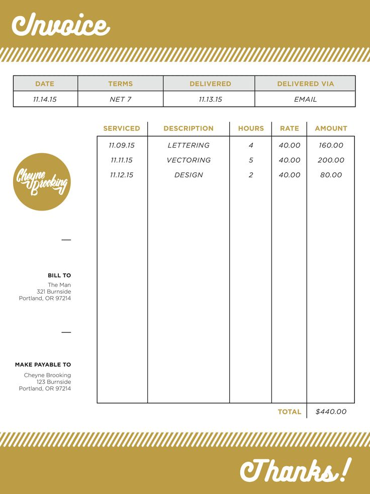 81 best Design Invoices \ Quotes images on Pinterest Letterhead - how to fill out invoice