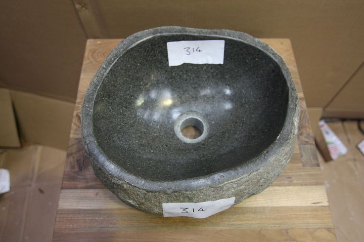 Diy Stone Sink : Granite Pebble Stone Sink Wash-basin. Individual and Unique!! (314 ...