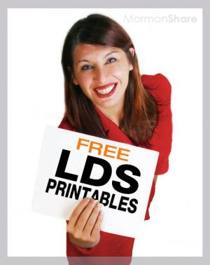 LDS Printables, Handouts, and Clipart