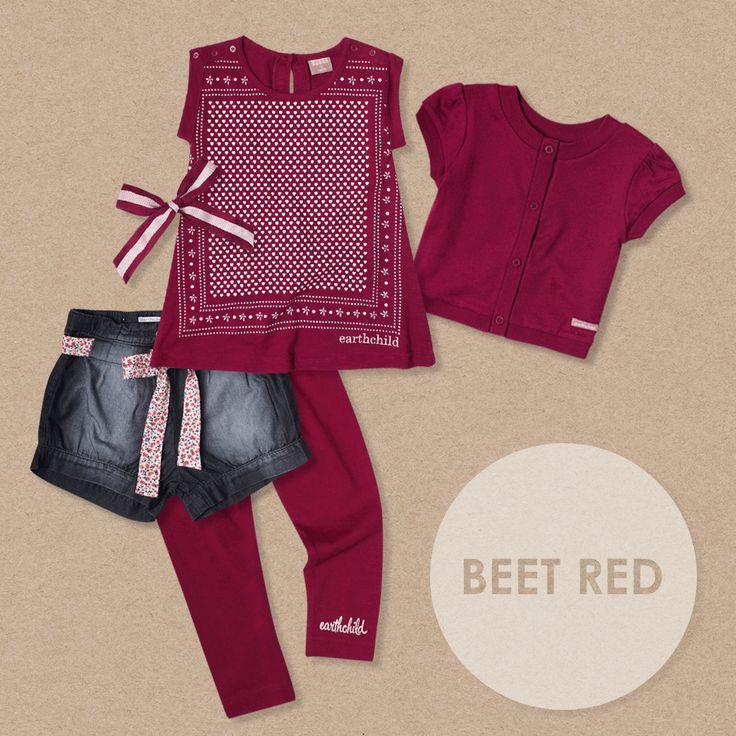 Summer 2014 Range Colour   Beet Red #blog #colour #kidsclothing #clothing #fashion #kidsfashion