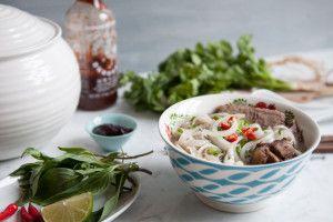 Vietnamese Pho Beef Noodle Soup