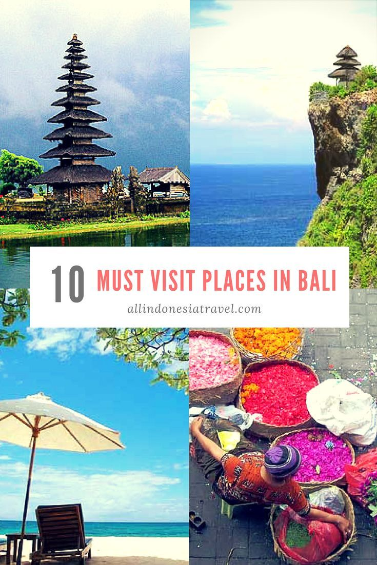 Top 10 must visit places in Bali - click to find out what to do and see in your trip to Bali.