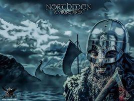 Northmen a Viking Saga by thecasperart