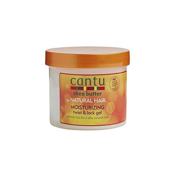 Cantu Shea Butter For Natural Hair Moisturizing Twist Lock Gel13 oz ($16) ❤ liked on Polyvore featuring beauty products and bath & body products