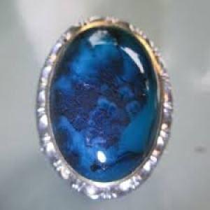 Batu Bacan Blue Elektrik