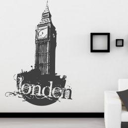 City wall stickers-London