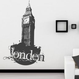 City wall stickers-London