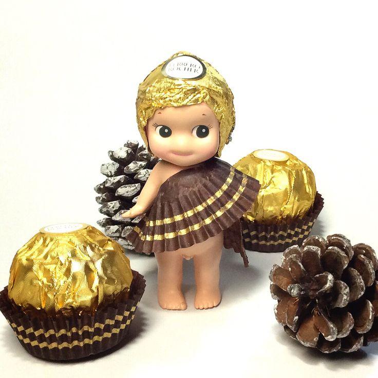 Sonny Angel in Ferrero Rocher Chocolate custome